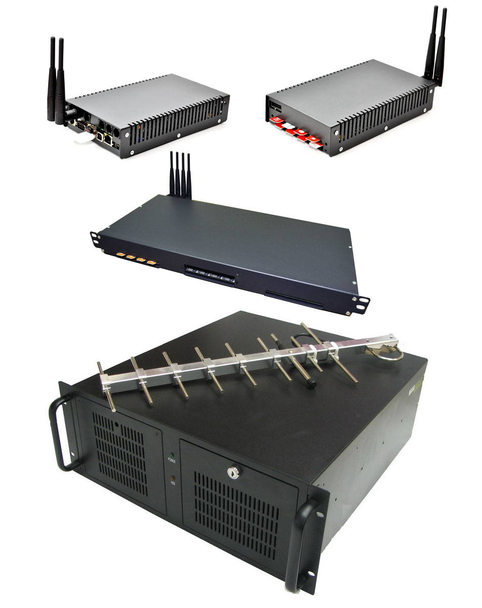 GSM-Gateways for Voice and SMS - POLYGATOR VoIP-GSM